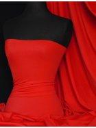 Matt Lycra 4 Way Stretch Fabric- Red Q56 RD