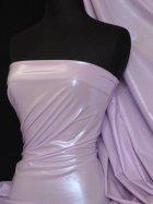 Lilac Semi Wet Look Stretch Lycra Fabric