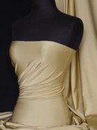 Shiny Lycra 4 Way Stretch Material- Matt Gold Q54 MTGL