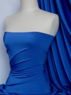 Shiny Lycra 4 Way Stretch Material- Royal Blue Q54 RBL