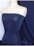 Diabolo Shiny Lycra 4 Way Stretch Fabric- Midnight Navy Q262 MNY