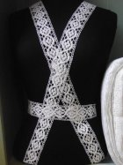 White Cotton Crochet Trim
