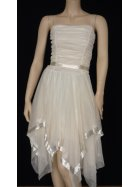 Angel White Floaty Prom Dress