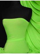 Shiny Lycra 4 Way Stretch Material- Parrot Green Q54 PGRN