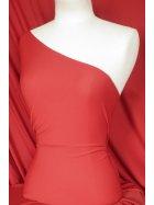 Clearance Lucci Stretch Fabric- Tomato Red SQ108 TMRD