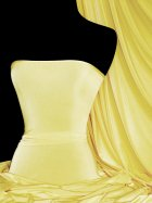 Silk Touch 4 Way Stretch Lycra Fabric- Lemon Q53 LMN