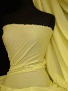 100% Cotton Light Weight Sheeting Fabric (150cm)- Lemon Q1275 LMN