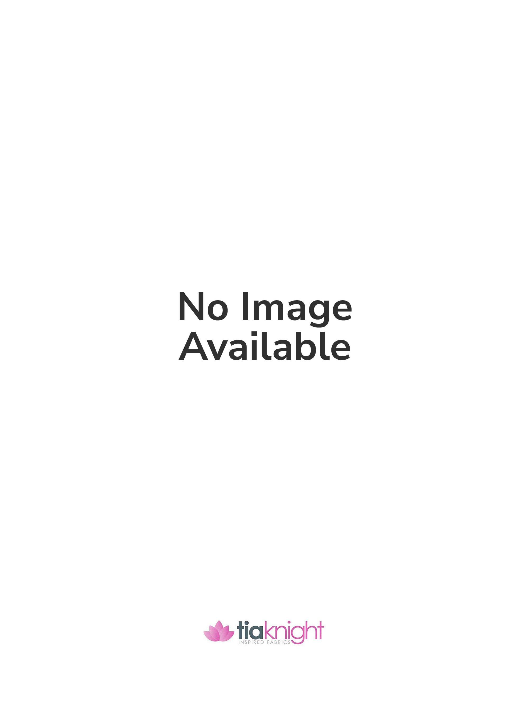 Lace Small Flower Design Stretch Fabric- Black SQ13 BK