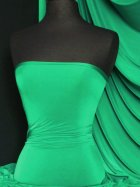 Silk Touch 4 Way Stretch Lycra Fabric- Emerald Green Q53 EMR