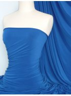 Soft Touch 4 Way Stretch Lycra Fabric- Royal Blue Q36 RBL