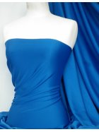 Marcy 4 Way Stretch Poly Lycra Fabric- Royal Blue Q1336 RBL