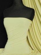 Soft Touch 4 Way Stretch Lycra Fabric- Lemon Q36 LMN