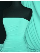 Silk Touch 4 Way Stretch Lycra Fabric- Aqua Q53 AQ
