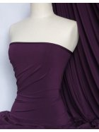 Soft Touch 4 Way Stretch Lycra Fabric- Dark Purple Q36 DKPPL