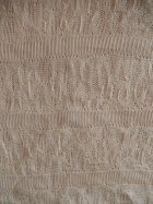 Delicate Knit Acrylic Cotton Soft Fabric- Light Stone Q1239 LTSTN