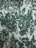 Victorian Design Viscose Cotton 4 Way Stretch Fabric- Sage Green Q1077 SGRNIV