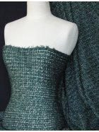 Sweater Knit Acrylic Soft Fabric- Bottle Green Q971 BTGRN