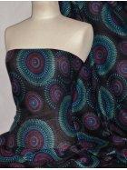 100% Viscose Light Weight Sheer Fabric- Pocahontas PVSC171 MLT