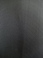 Upholstery Vinyl Cotton Back Textured Fabric Material- Matt Black SQ84 MTBK