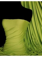 Viscose Cotton Stretch Lycra Fabric- Apple Green Q300 APGR