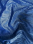 Micro Wet Look Stretch Lycra Fabric- Deep Blue Sea Q925 DBLS