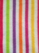 Polar Fleece Anti Pill Washable Soft Fabric- Beach Hut Stripes 2 PF BCH2