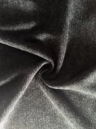 Sweater Knit Acrylic Soft Knitwear Fabric- Charcoal SQ113 CHGR