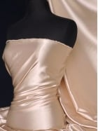 Super Soft Satin Fabric- Nude Q710 ND