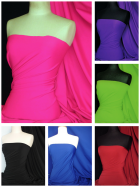 Super Stretch Matte Nylon Lycra Shape Wear Fabric SQ137