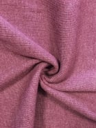 100% Cotton Jersey 2 x 2 Rib Knit Fabric- Mauve Q1007 MVE