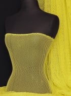 Fishnet 4 Way Stretch Material- Bright Yellow Q319 BTYEL