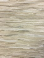 Pleated Crinkle Glitter Stretch Fabric- Ivory SQ119 IV