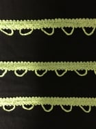 2 METRES Rope Braided Trim- Lime Green SY208 LMGR