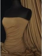 Heavy Viscose Cotton Stretch Lycra Fabric- Mocha Q896 MCH