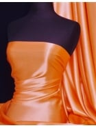 Crepe Back Satin Fabric Material- Orange Q131 OR
