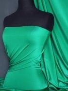 Shiny Lycra 4 Way Stretch Material- Jade Green Q54 JDGR