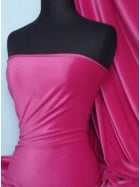 Steam Velvet Stretch Fabric- Cerise SV157 CRS