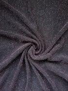Slinky Shimmer 4 Way Stretch Fabric- Black/Pink Q1183 BKPN