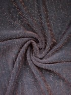 Slinky Shimmer 4 Way Stretch Fabric- Black/ Copper Q1183 BKCOP