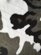 Polar Fleece Anti Pill Washable Soft Fabric- Camouflage Grey Q1402 GRBK