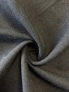 100% Polyester Textured Sheer Lightweight Fabric- Black SQ207 BK