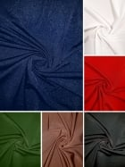 Crystal Shimmer Silk Touch Super Stretch Lycra Jersey Dressmaking Fabric- SQ208
