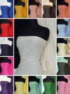 Soft Fine 1x1 Rib 100% Cotton Knit Jersey Material - Q61
