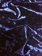 Marble Texture Velvet Lycra 4 Way Stretch Fabric- Indigo Purple Q172 IND