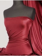Shiny Lycra 4 Way Stretch Material- Burgundy Q54 BGD