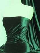 Velvet /Velour 4 Way Stretch Spandex Lycra- Bottle Green Q559 BTGR
