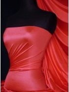 Shiny Lycra 4 Way Stretch Material- Scarlett Red Q54 SCRD