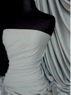 100% Cotton Interlock Knit Soft Jersey T-Shirt Fabric- Cloud Grey Q60 CLDGR