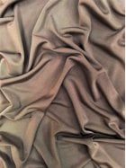 Clearance Silk Touch 4 Way Stretch Lycra Fabric- Mocha SQ110 MCH