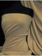 Polar Fleece Anti Pill Washable Soft Fabric- Peanut Butter PF PNB